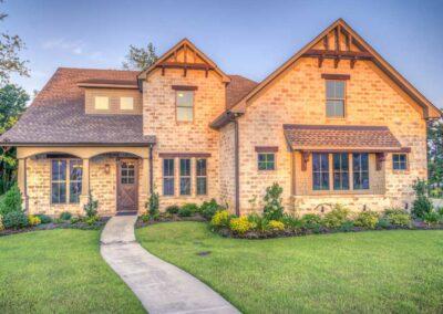 Rustic Stone Home